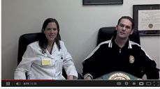Hand Surgeon Dr. Cassie Root talks with Professional Boxer Jimmy Lange