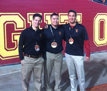 Dr. Paik and colleagues covering the USC vs. #4 Stanford game