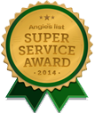 Nirschl Orthopaedic Center Recieved the Angies List Super Service Award